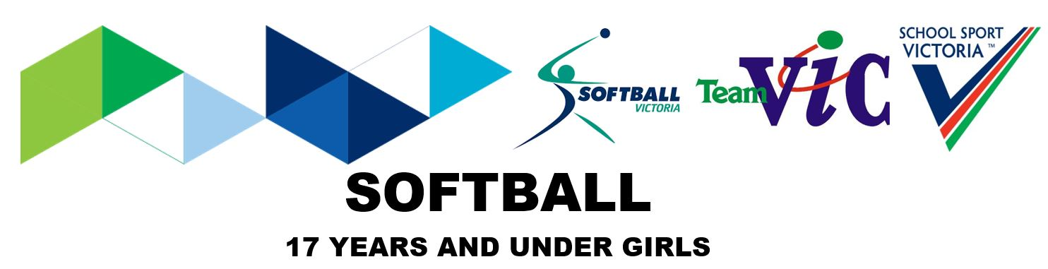SSV 2018 Softball 17 Years and Under Girls Registration